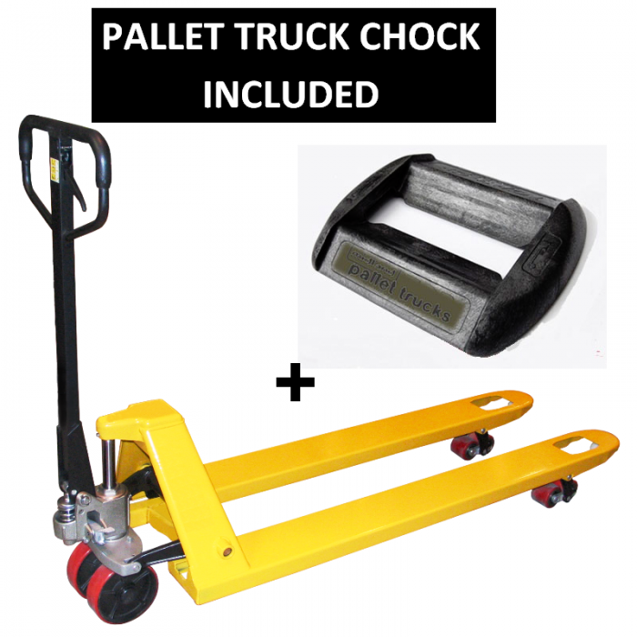 EURO PALLET TRUCK AND CHOCK