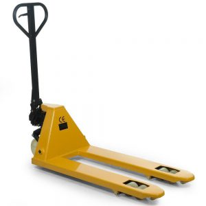 Nylon Wheel Hand Pallet Truck with Double Rollers
