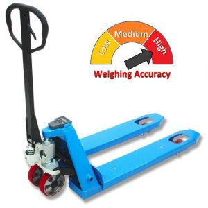 E20B 2000kg/1kg Pallet Truck Scale Wide 685x1220mm