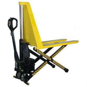 1000kg capacity wide fork electric high lift