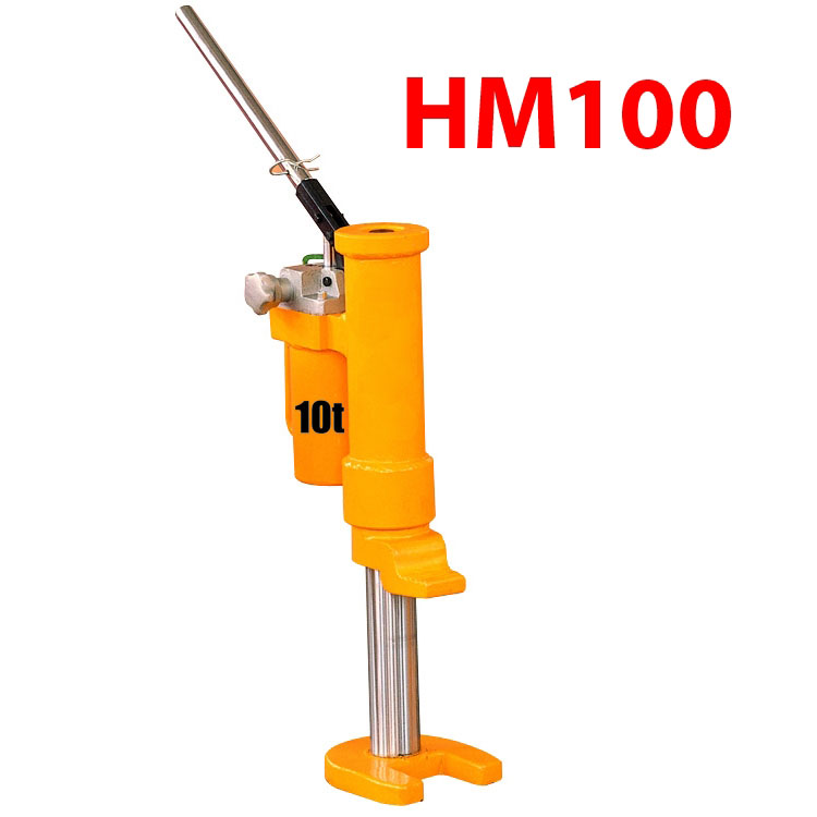 Hm100 Manual Hydraulic Toe Jack 10t Pallet Trucks And