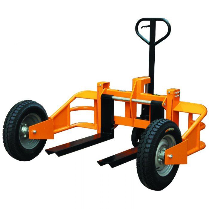 1250kg capacity rough terrain pallet truck