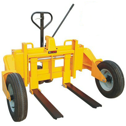 1200kg capacity adjustable forks hand pallet truck