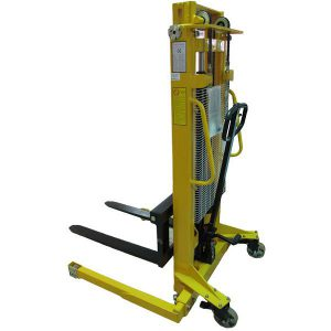 1.6m Lift 1000kg Stacker with Adjustable Base Legs
