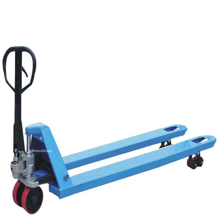 2000kg 2.0T Longer Double roller hand pallet truck