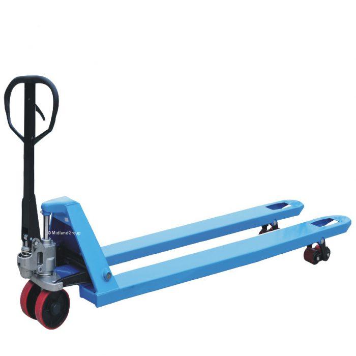 2000kg 2.0T Long Double roller hand pallet truck
