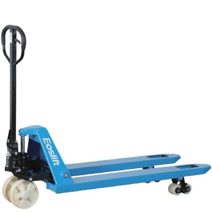 2500kg Nylon wheel wide pallet truck