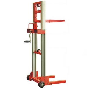 80kg Lightweight Portable Hand Stacker Truck