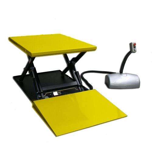 Fantastic Htf G 1000Kg Static Electric Lift Table With Ramp Download Free Architecture Designs Crovemadebymaigaardcom