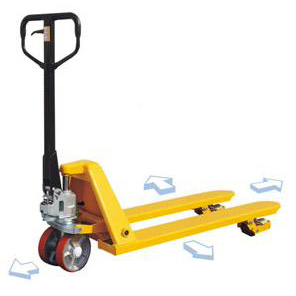 1500kg Capacity Wide Traverse Pallet Truck