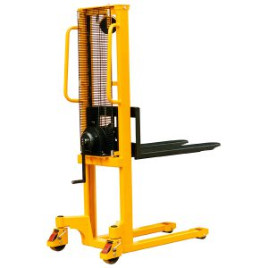 1.5m lift height  1000kg capacity Winch Stacker