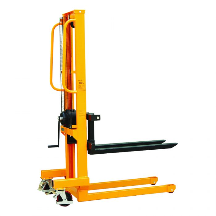 1.56m lift height 250kg capacity Winch Stacker