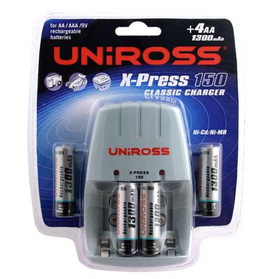 Battery charger and rechargeable batteries