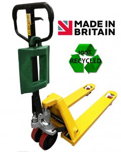 pallet truck chock 100% recycled