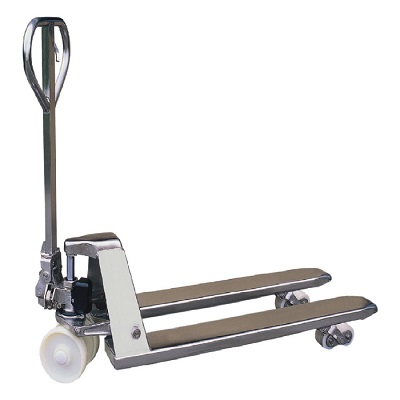 Wide Stainless Steel Pallet Truck