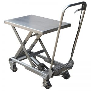 100kg Stainless Steel Scissor Lift Table