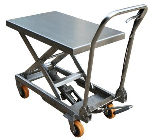 200kg Stainless Steel Scissor Lift Table BSS20