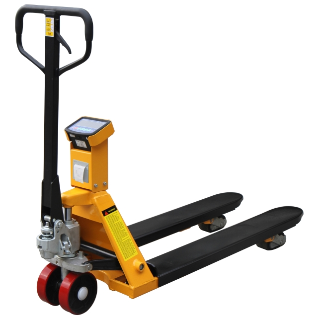 WSPTP1A Weigh Scale Pallet Truck With Printer